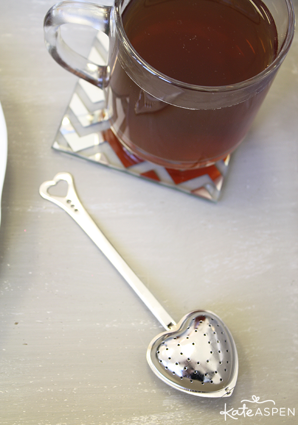 Tea with Tea Infuser - Kate Aspen