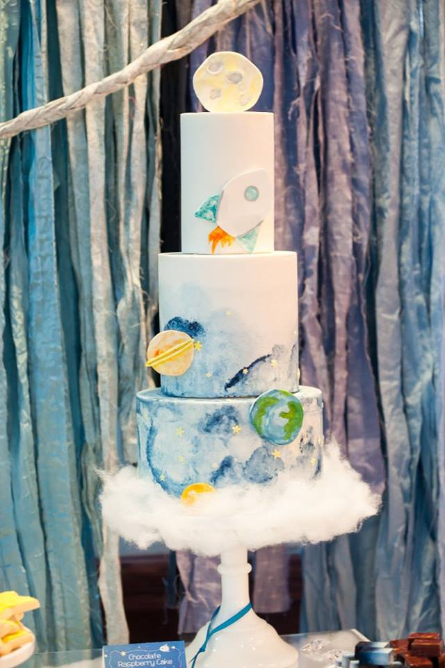 To the Moon and Back Cake| Mirage+Light Photography