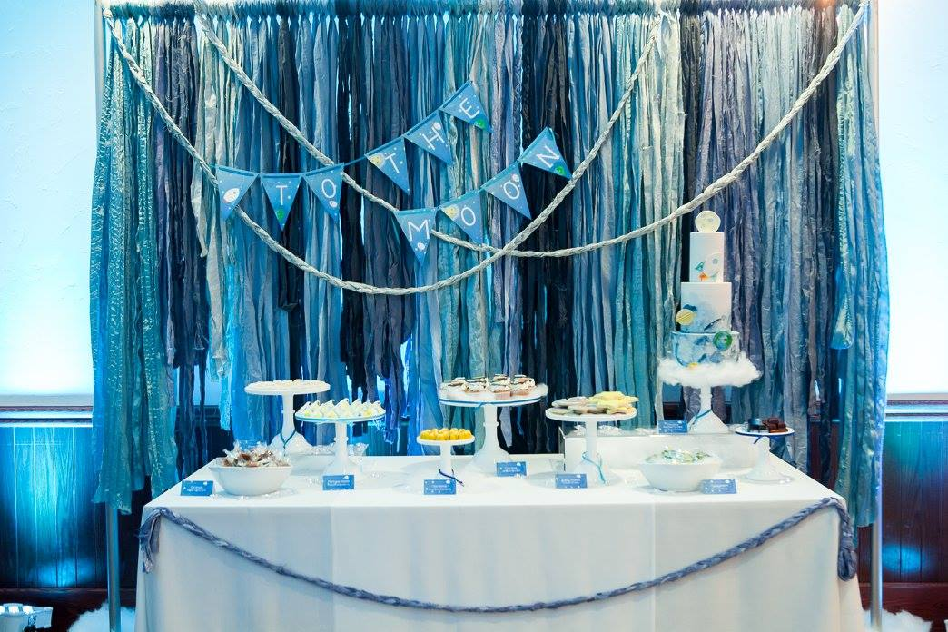 To the Moon and Back Dessert Table | Mirage+Light Photography