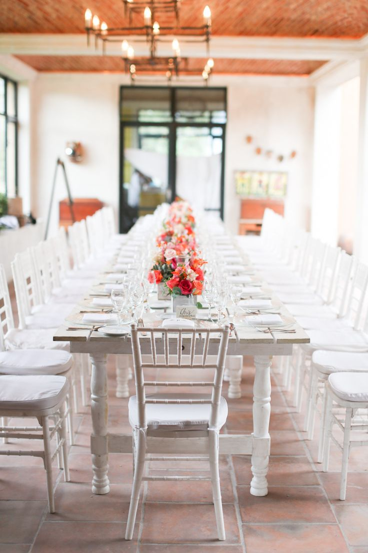 Traditional Wedding Reception Table | San Miguel de Allende Mexico | Evan Hunt Photo via Style Me Pretty