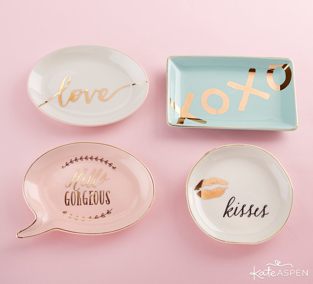 Trinket Dishes | A Stocking Stuffer Holiday Gift Guide | Kate Aspen