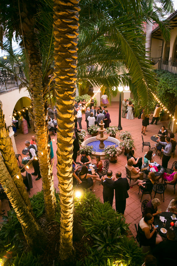 Wedding Reception | Pink Wedding in Florida | Claudette Montero Photography