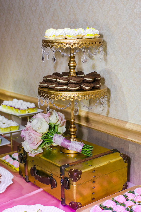 Desserts | Pink Wedding in Florida | Claudette Montero Photography