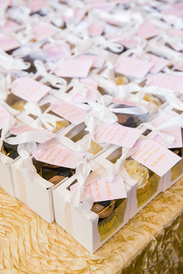 Wedding Favors | Pink Wedding in Florida | Claudette Montero Photography