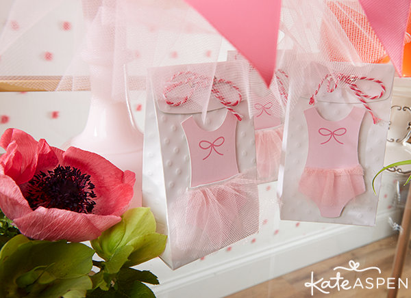 Tutu Cute Baby Shower Favor Bags | Kate Aspen