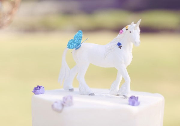 Unicorn Cake Topper | Sweet Jelly Parties | Bekah Peace Photography