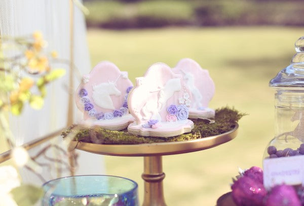 Unicorn Cookies | Sweet Jelly Parties | Bekah Peace Photography