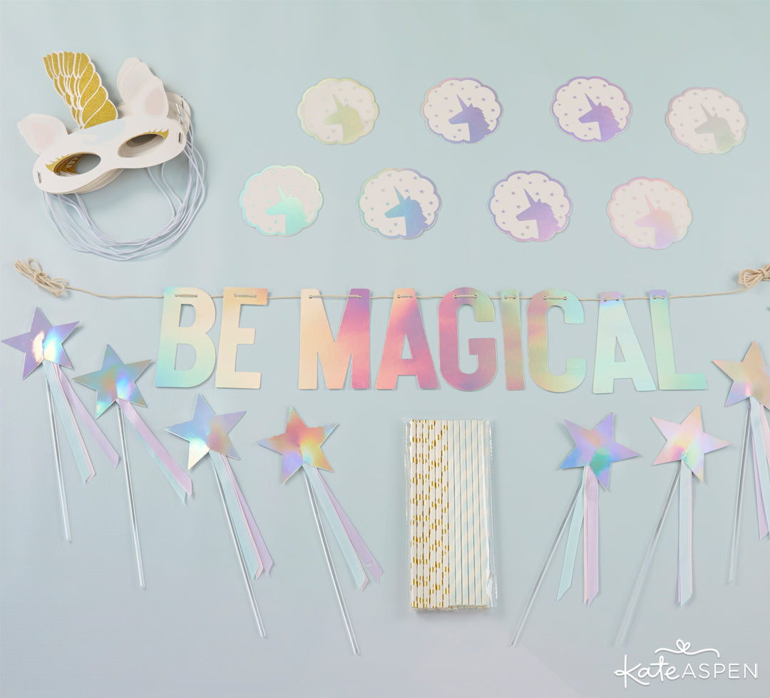 Unicorn Decor Kit | Be Magical: A Simply Enchanting Giveaway | Kate Aspen