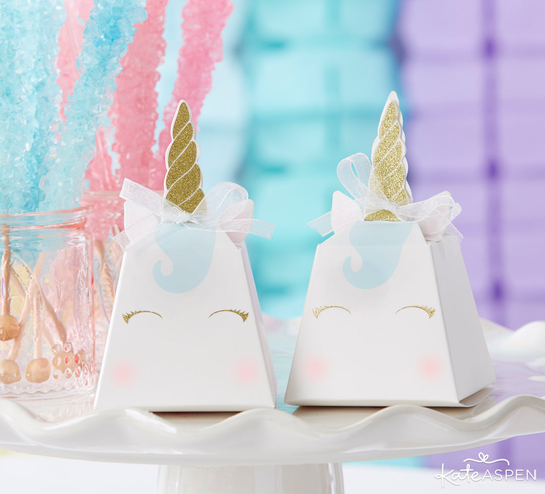 Unicorn Favor Box | Be Magical: A Simply Enchanting Giveaway | Kate Aspen