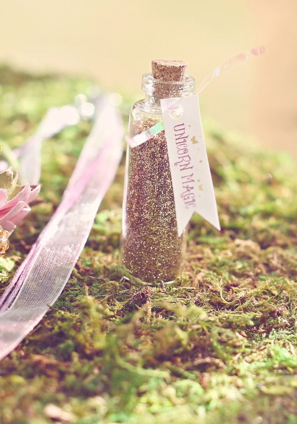 Unicorn Magic Glitter Favor | Sweet Jelly Parties | Bekah Peace Photography