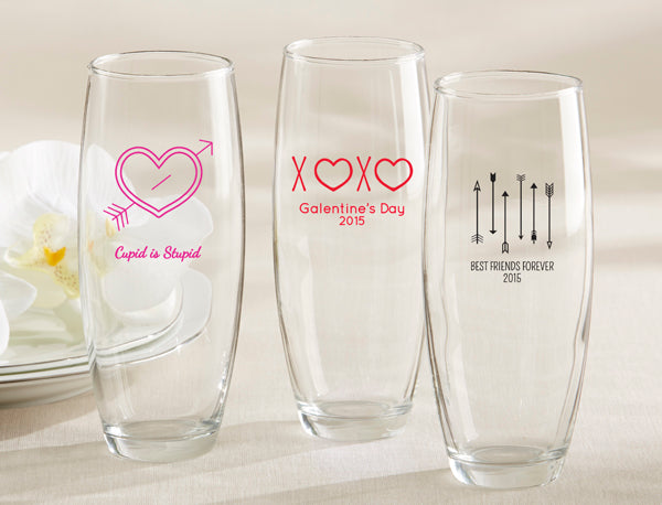 Valentine's Day Party With Friends | Girls' Night In | Valentine's Day Drinks | Valentine's Day Party Favors | Stemless Champagne Glasses | Valentine's Day Party Ideas from Kate Aspen