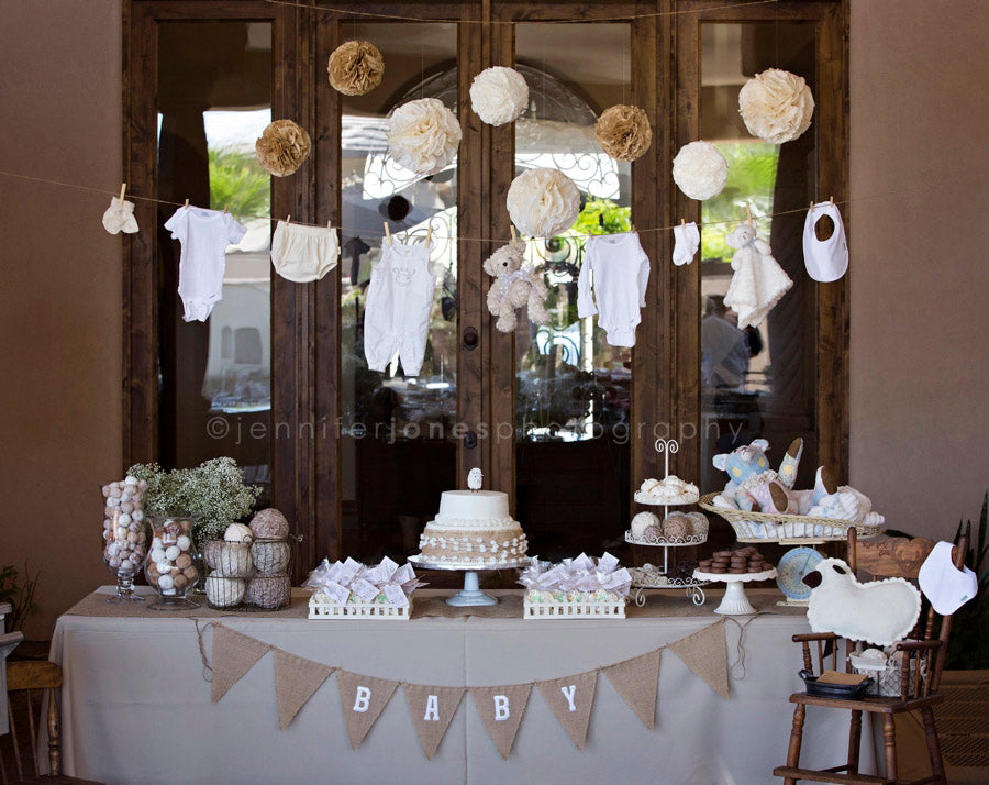 Vintage Lamb Baby Shower | Jennifer Jones Photography | 5 Top Trending Baby Shower Ideas