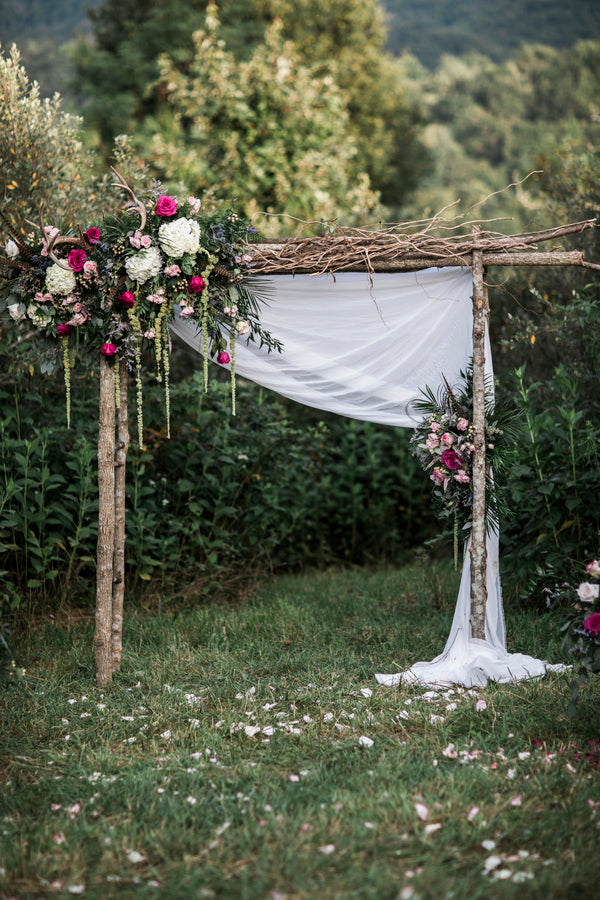 Wedding Arch | Details For The Perfect Floral Wedding | Kate Aspen