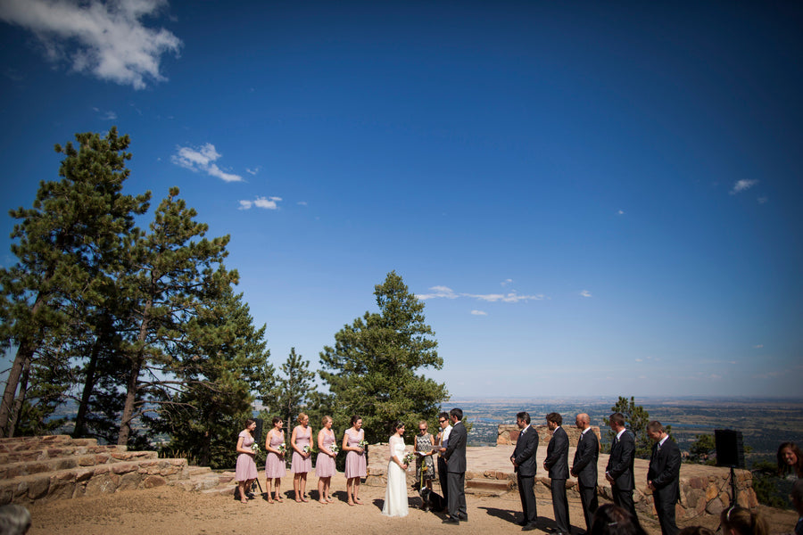 Wedding Ceremony | Colorado Wedding | Katie Keighin Photography