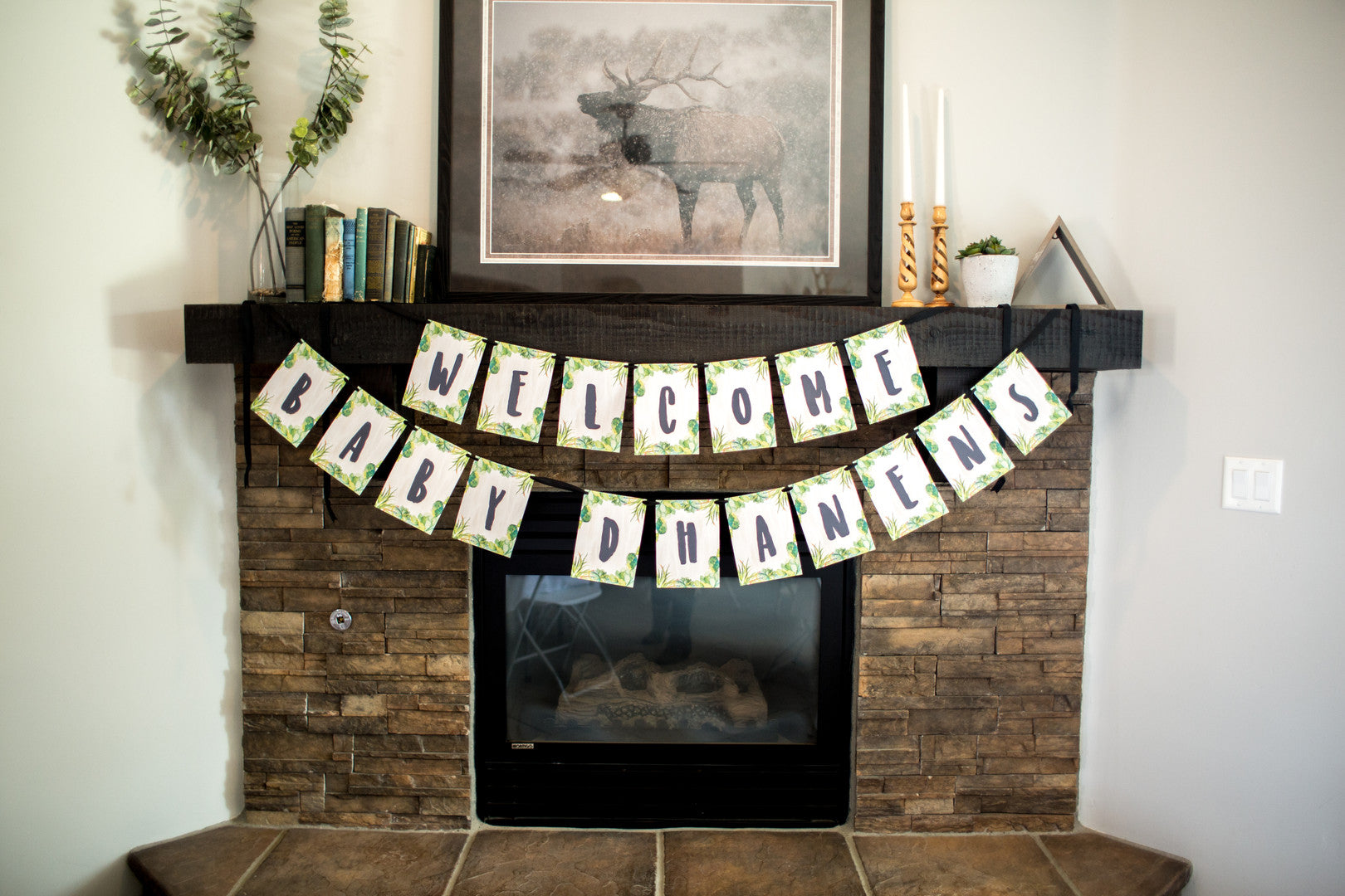 Welcome Sign | A Chic Desert Themed Baby Shower | Kate Aspen