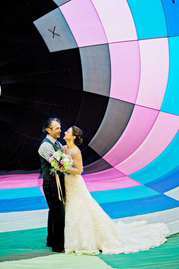 Hot Air Balloon Wedding | Studio 83 Wedding Photography | Kate Aspen