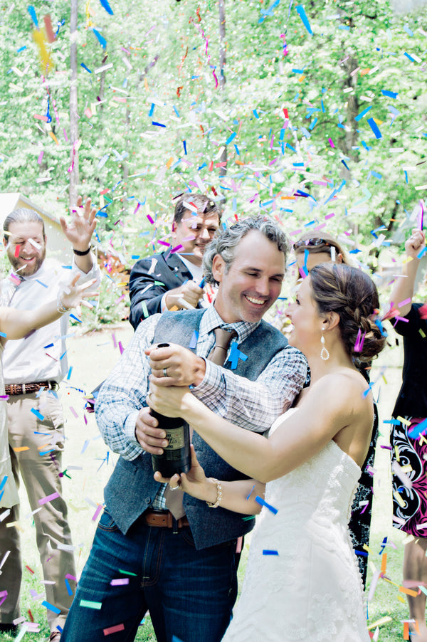 Confetti Kiss | Hot Air Balloon Wedding | Studio 83 Wedding Photography | Kate Aspen