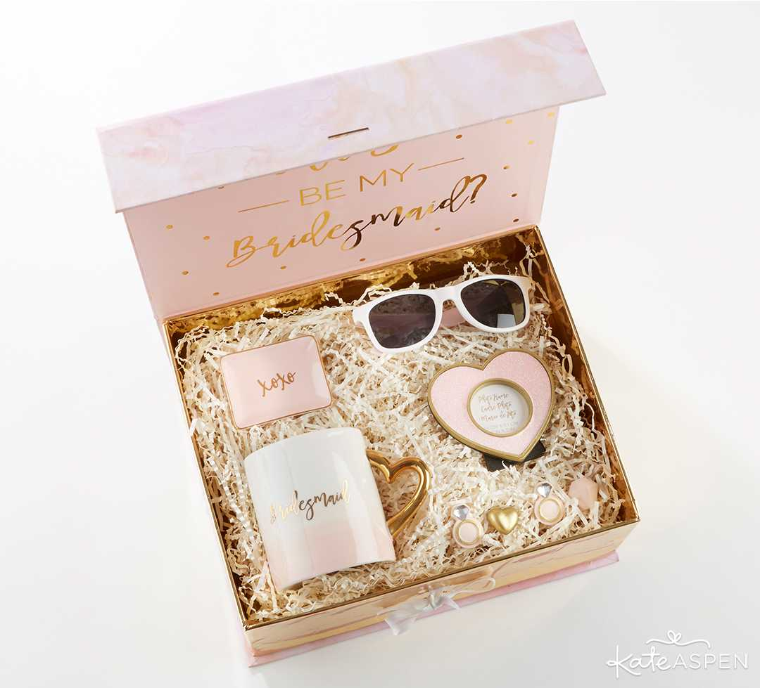 Will You Be My Bridesmaid Kit | Curate Your Own Bridesmaid Proposal Kit + A Giveaway | Kate Aspen