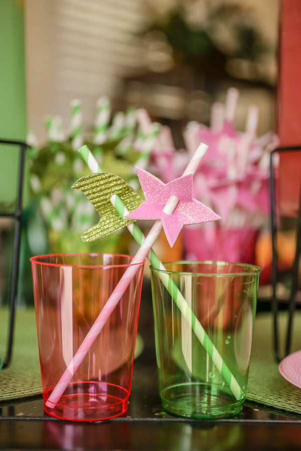 Glinda the Good and Wicked Witch of the West Wizard of Oz Cups | A Wizard of Oz Baby Shower | Life Long Studios Photography | Kate Aspen
