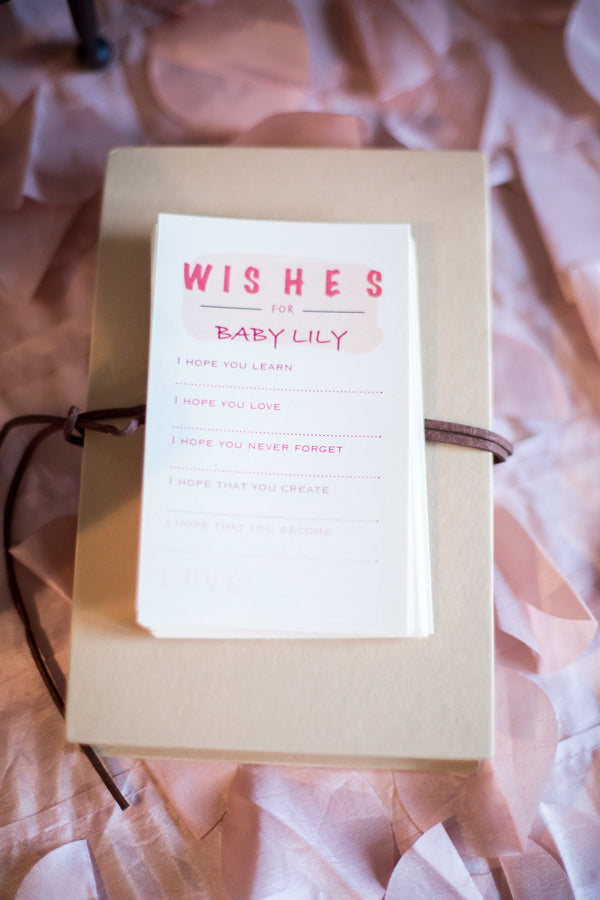 Wishes For Baby | A Magical Pink Baby Shower | Kate Aspen