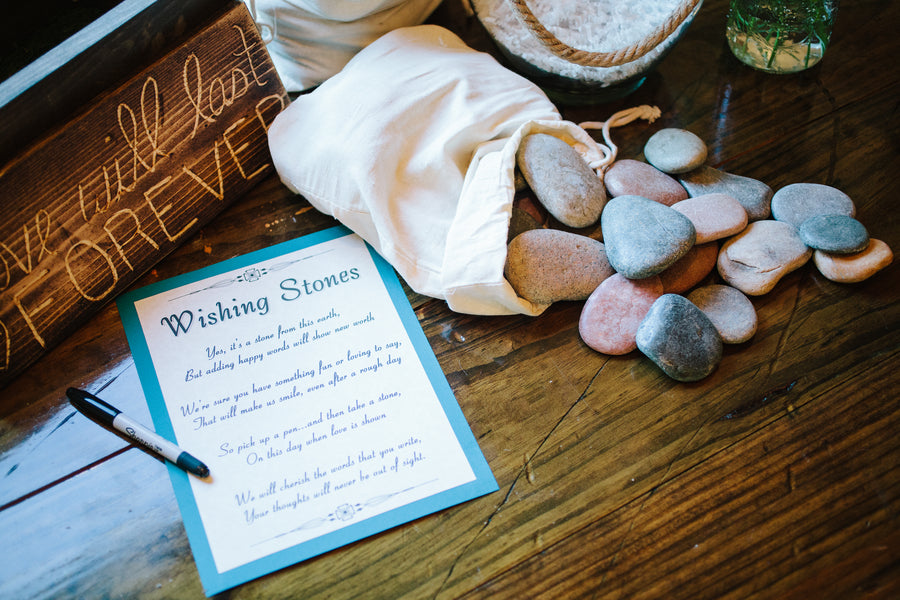 Wishing Stones | Plantation Wedding in Charleston | Riverland Studios