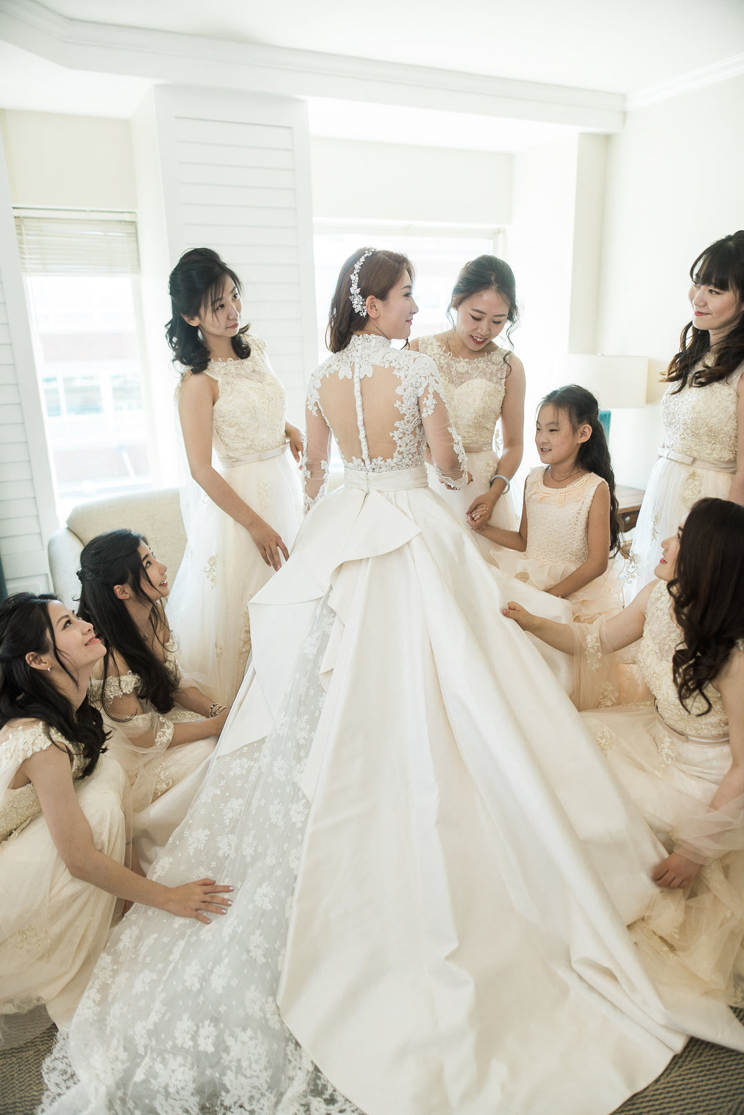 Bride and her bridesmaids | Best of 2018: Kate Aspen Wedding Features | Kate Aspen