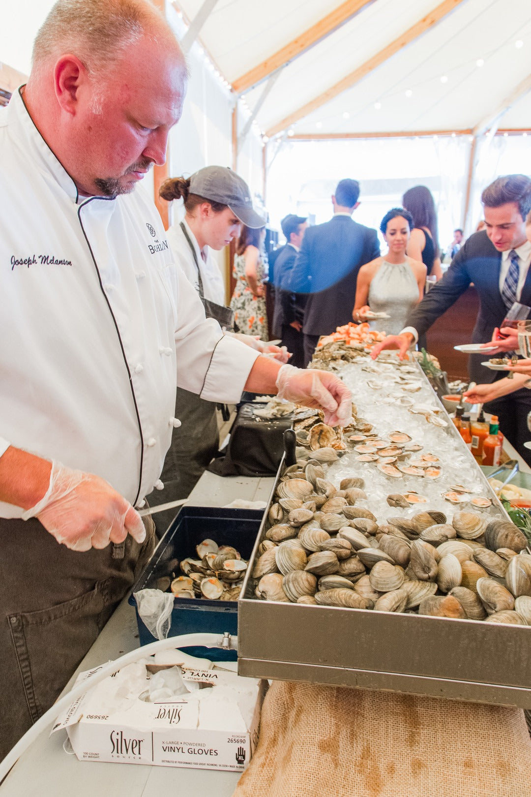 Oysters | A Scenic Wedding Off the Coast of Rhode Island | Kate Aspen
