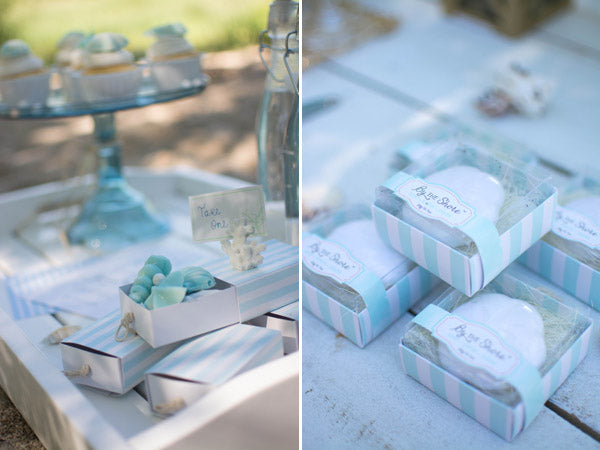 beach bridal shower favors from Kate Aspen