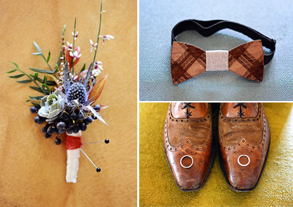 Boho groom's accessories | Catrina Earls Photography