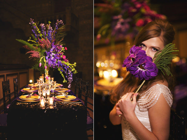 Mardi Gras Inspiration - Ruffled Blog