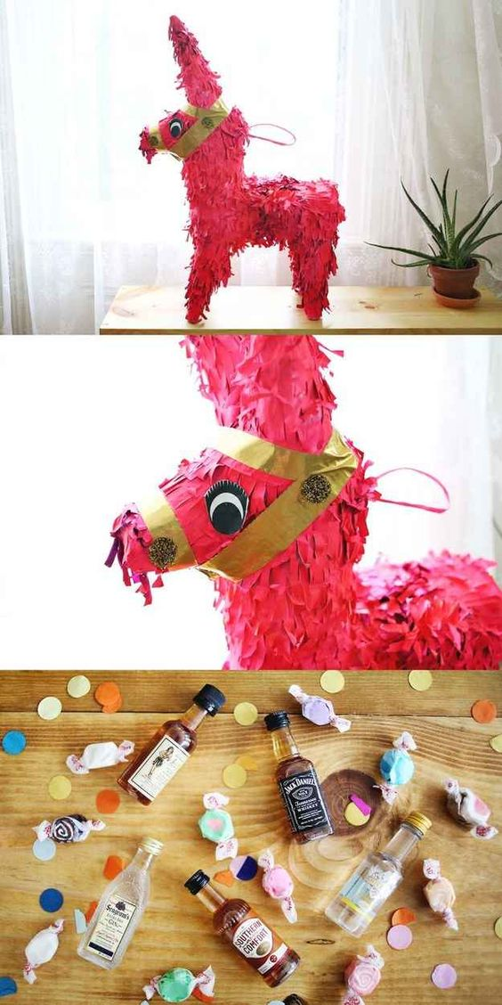 Adult Pinata | 6 Party Ideas for The Perfect Boozy Birthday | Kate Aspen