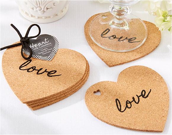 Valentine's Day Party With Friends | Girls' Night In | Cork Coasters | Valentine's Day Party Favors| Valentine's Day Party Ideas from Kate Aspen