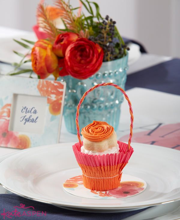 Floral Cupcake Dessert Display - Kate Aspen