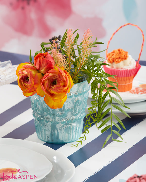 Bright and bold wedding floral centerpieces - Kate Aspen