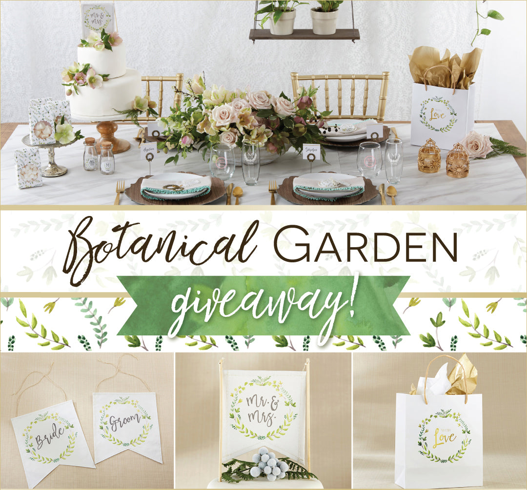 Botanical Garden Giveaway | Kate Aspen