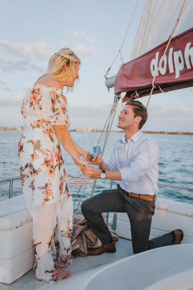 Jocelyn and Toren | Summer Loving: The Cutest Summer Proposals | My Wedding Favors