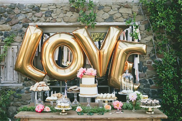 Balloon Letters | Party Trends | Kate Aspen