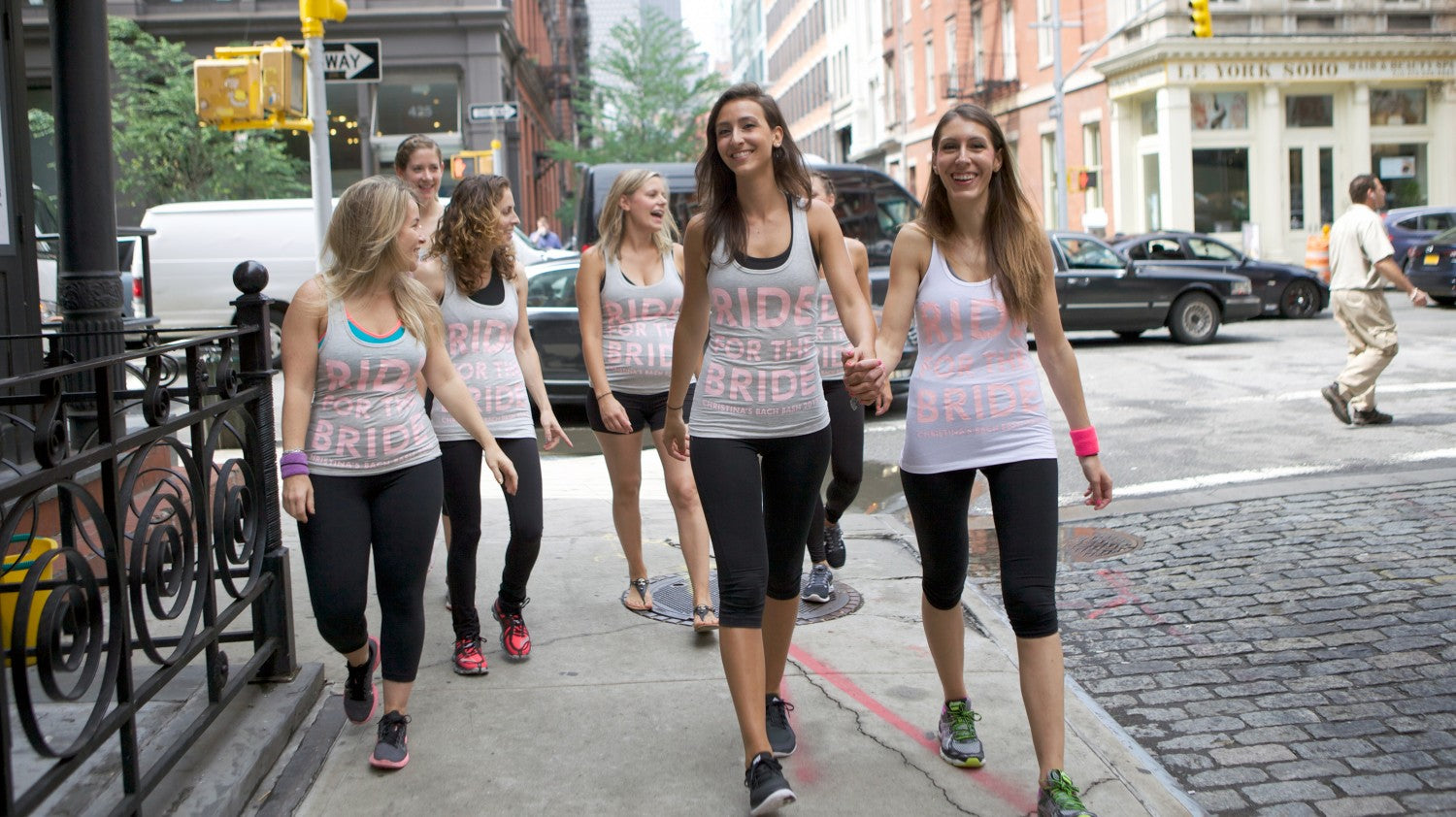 Soulcycle bachelorette party | Offbeat Bachelorette Party Ideas