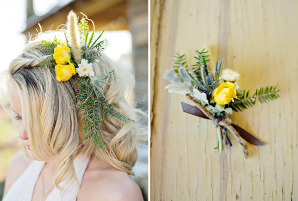 Southwest wedding personal flowers  | Andie Freeman Photography