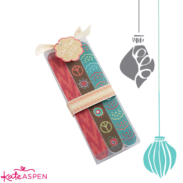 10 Unique Stocking Stuffers | Nail Files | Kate Aspen Blog