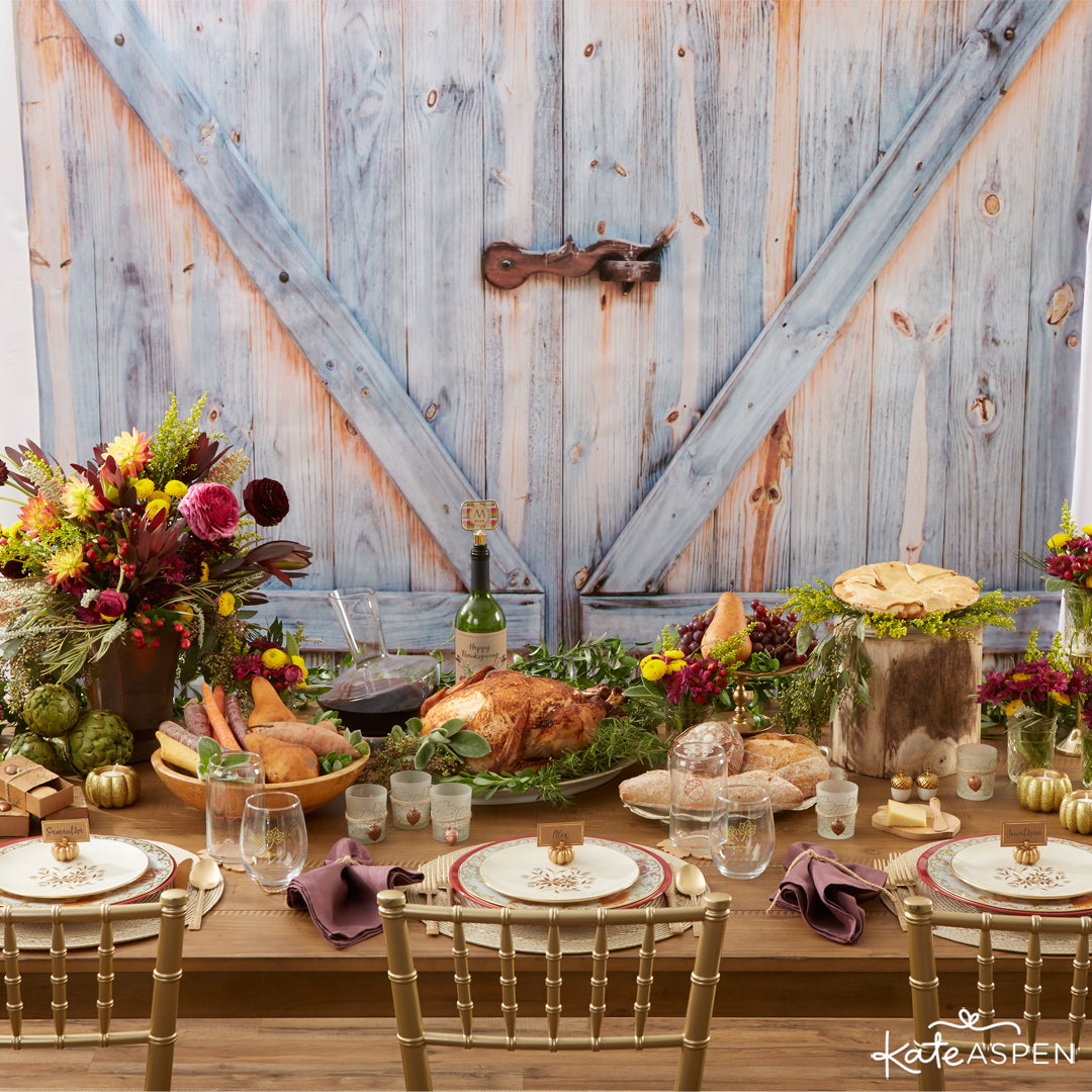 Tablesetting | Thanksgiving Table Setting | Kate Aspen