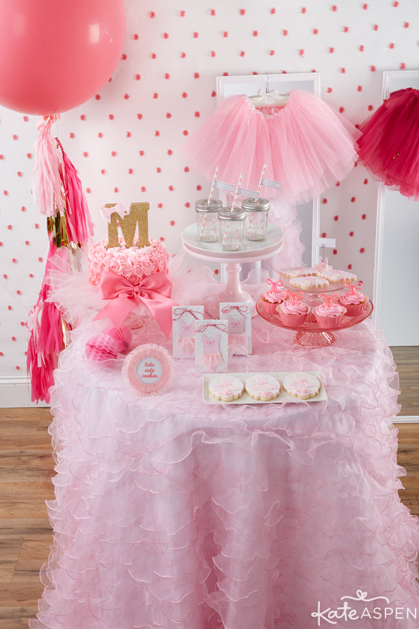 tutu cute party decor from Kate Aspen