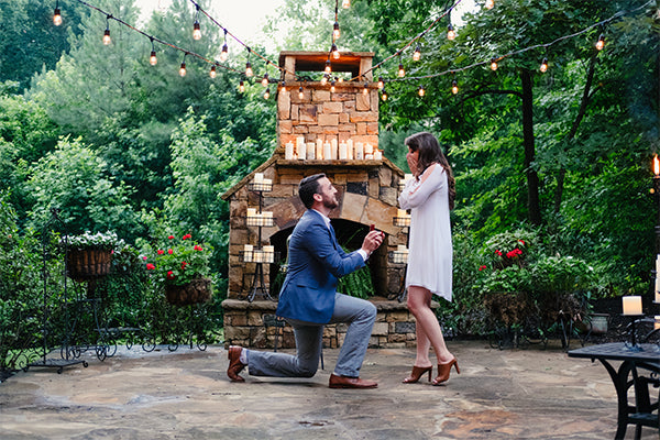 Val and Sanders | Summer Loving: The Cutest Summer Proposals | My Wedding Favors