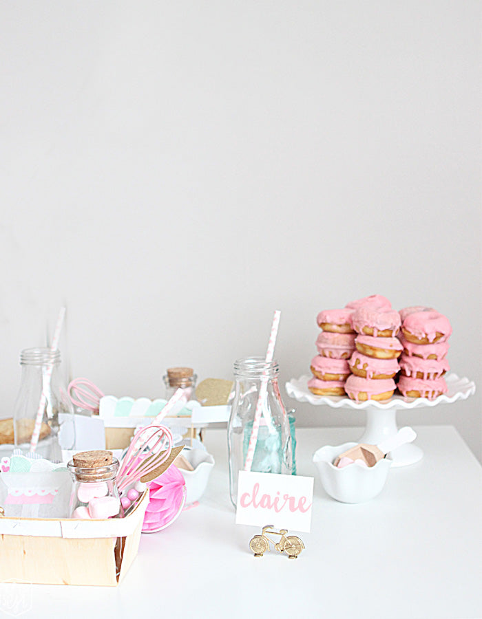 Pink and White Party by Chelsey Mass via Mom's Best Network
