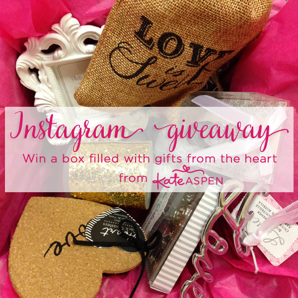 Valentine's Day Instagram Giveaway from Kate Aspen