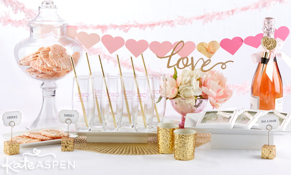 Easy Ways to Host a Glam Valentine's Day Party for Your Gals | Valentine's Day 2016 | @KateAspen | KateAspen.com