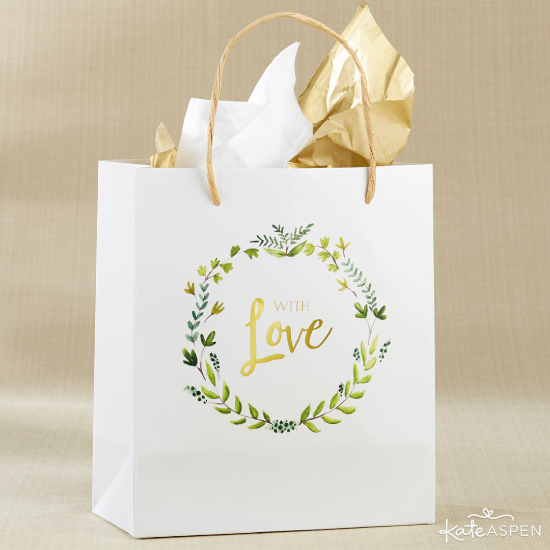 With Love Botanical Garden Gift Bag | A Botanical Garden Giveaway | Kate Aspen