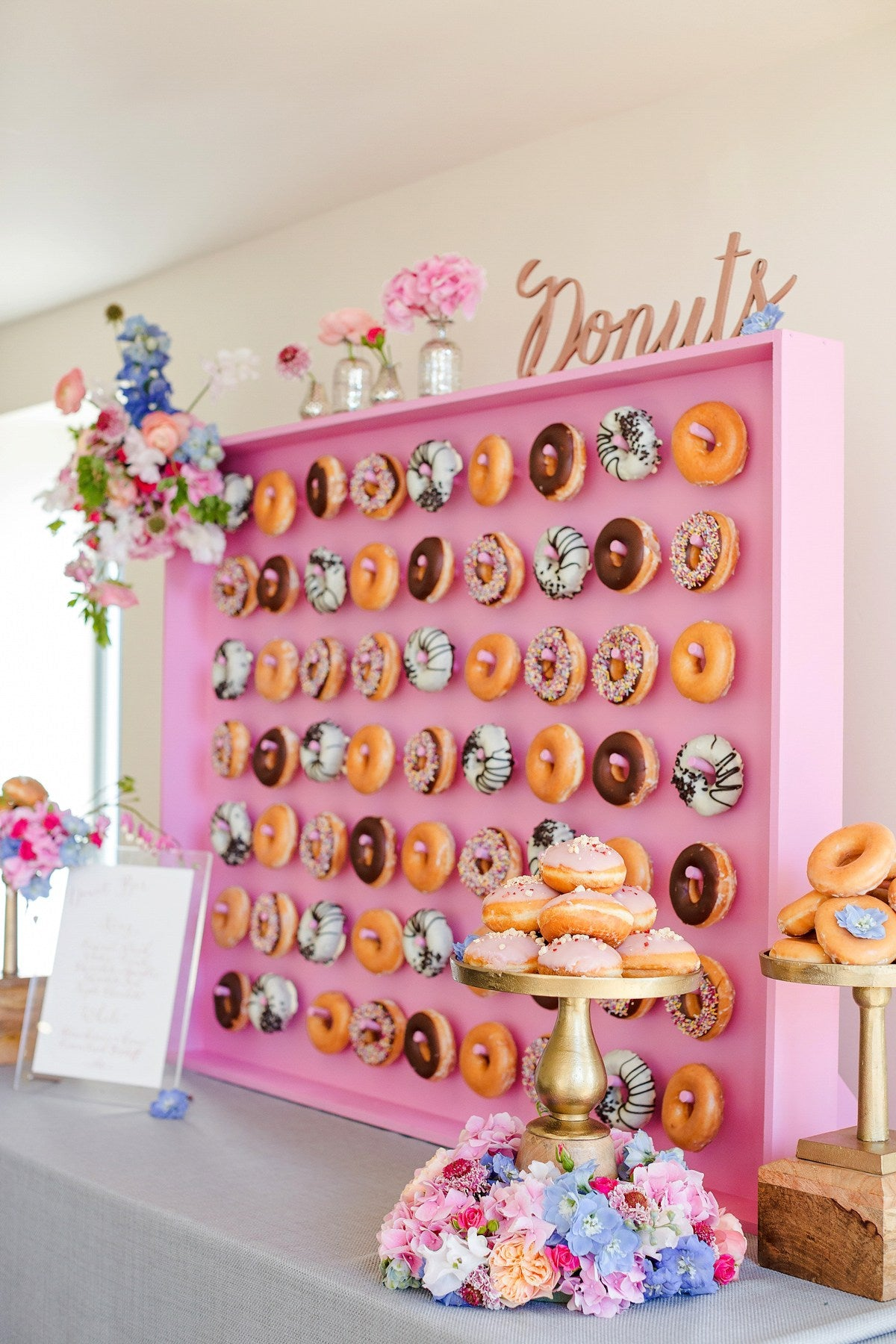 Donut Wall | Party Trends | Kate Aspen
