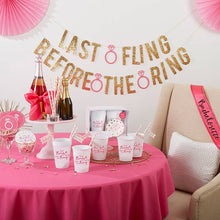 Load image into Gallery viewer, Last Fling Before the Ring 66 Piece Bachelorette Party Kit