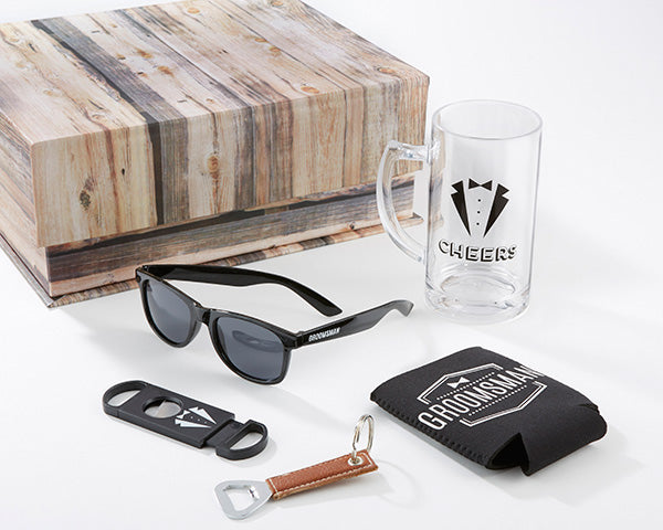 Load image into Gallery viewer, Groomsman Kit Gift Box